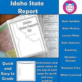 Idaho State Report