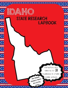 Idaho State Research Lapbook Interactive Project