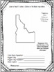 Idaho State Research Report Project Template + bonus timel