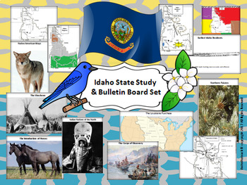 Idaho State Study & Bulletin Board Set