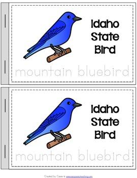 Idaho State Symbols Notebook