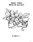 Idaho State Symbols Student Book