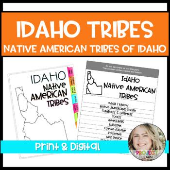 Idaho Tribe Flipbook - Distance Learning Google & Print