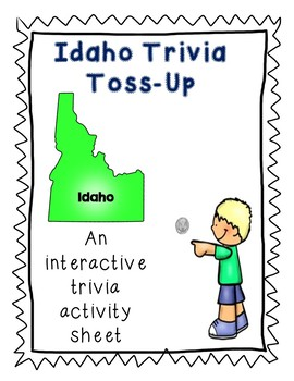 Idaho Trivia Toss-Up Challenge - State Geography