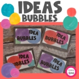 Idea Bubbles Brainstorming and Thinking Activity