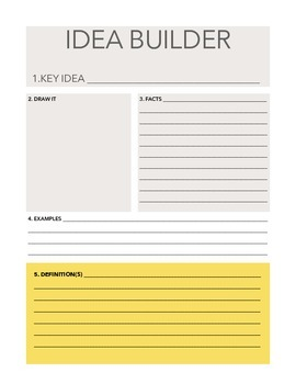Idea Builder