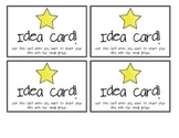 Idea Cards for Small Groups
