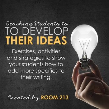 Idea Development: Activities and Strategies