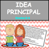 Idea Principal Grados 2-4 / Main Idea in Spanish