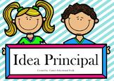 Idea Principal / Main Idea Task Cards spanish