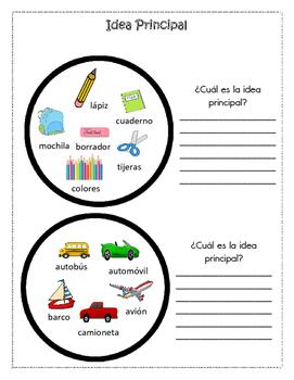 Idea Principal (Spanish)