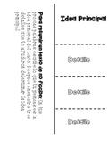 Idea Principal y Detalles Foldable FREEBIE [Main Idea and Details]