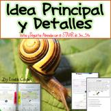 Idea Principal y Detalles ~ Material de Instrucción y Practica para el STAAR