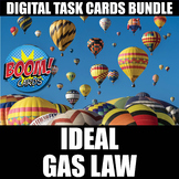 Ideal Gas Law Boom Cards   Distance Learning   Self-Grading