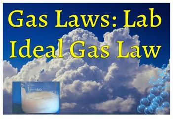 Ideal Gas Law Lab/Airbag lab