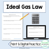 Ideal Gas Law Worksheet and Answer Key Chemistry