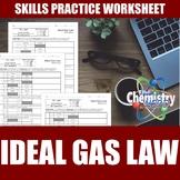 Ideal Gas Law Worksheets | Print | Digital | Self-Grading