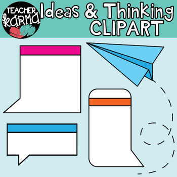 Ideas & Critical Thinking Graphics BUNDLE : Think Tank