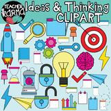 Ideas & Critical Thinking Graphics BUNDLE : Think Tank