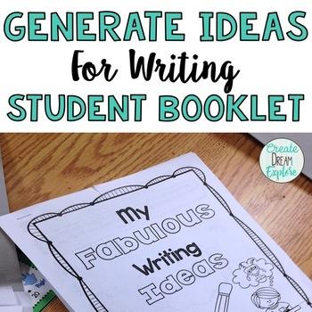 Writing Using the Ideas Trait