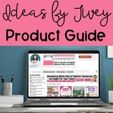 Ideas by Jivey Product Guide