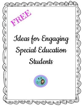 Ideas for Engaging Special Education Students