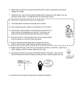Ideas for Giving Game Instructions to Beginning ESL Students