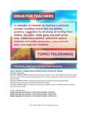 Ideas for Teachers: Tolerance
