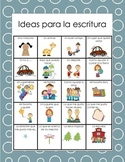 Ideas para la escritura/Writing Ideas