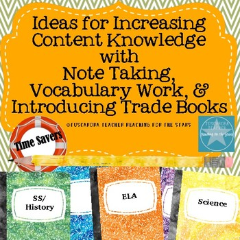 Ideas to Increase Content Knowledge