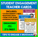 FREE Ideas to Promote Active Engagement of Your Students #kindnessnation