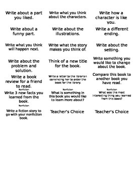 Ideas to Write About!