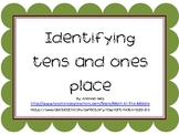 Identfying the tens and ones place