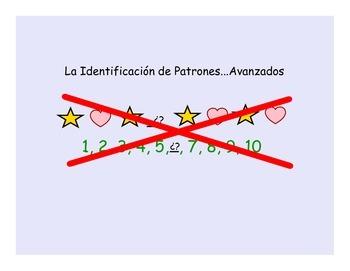 Identificación de Patrones (Pattern Recognition Worksheet)