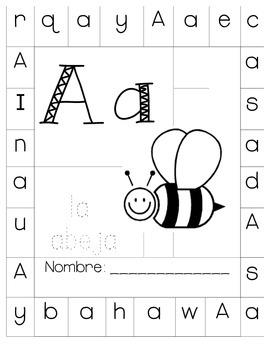 Identificación de Letras