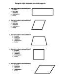 Identificando Cuadriláteros - Identifying Quadrilaterals