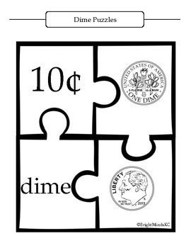 Identification Money Puzzles