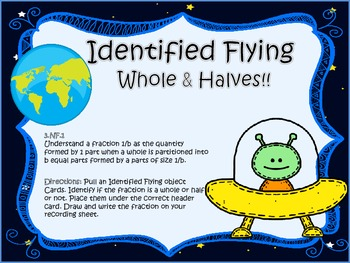 Identified Flying Fractions (Whole & Halves)