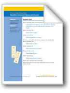 Identifies Consonant Names and Sounds (assessment)