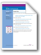 Identifies Long Vowel Sounds (assessment)