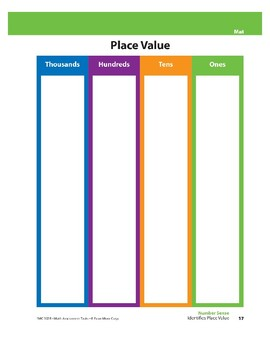 Identifies Place Value
