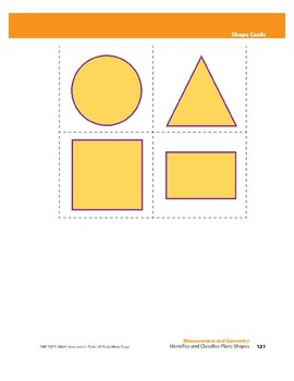 Identifies and Classifies Plane Shapes