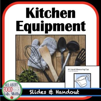 Identifing Kitchen Tools Lesson/Quiz