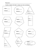 Identify 2D Shapes- Spanish