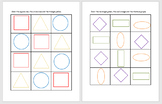 Identify 2D Shapes by Coloring