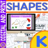 Identify 2D and 3D Shapes   Pattern Blocks Templates Google Slides