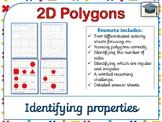 Identify 2D polygons (including regular and irregular polygons)
