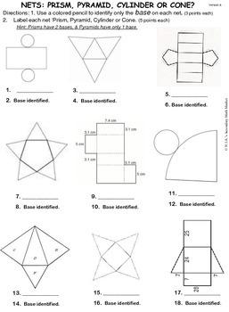 Identify 3-D NETS Practice