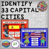 Identify 33 Capital Cities Boom Digital Distance Learning