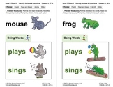 Identify Actions & Locations: Lesson 4, Book 6 (Newitt Prereading Series)